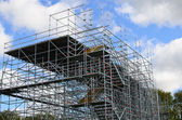 Scaffolding structure — Stock Photo