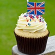British cup cake — Stock Photo
