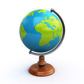Desk globe — Stock Photo