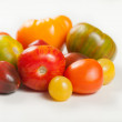 Stock Photo: Organic Heirloom Tomatoes