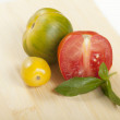 Organic Heirloom Tomatoes — Stock Photo