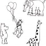 African Animal Cartoons — Stock Vector #11084976