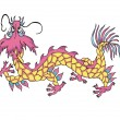 Traditional Chinese Dragon — Stock vektor