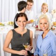 Business at catering buffet company event — Stock Photo #10888406