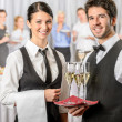 Stock Photo: Professional catering service