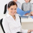 Professional businesswoman attractive in office — Stock Photo