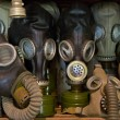 Used gas mask stored in museum — Stock Photo #11776821