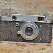 Old fashioned camera is in good shape — Stock Photo