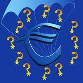 Europe and the Euro crisis — Stock Photo