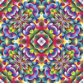 Bezešvé arabeska vektor mozaika — Stock vektor