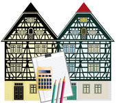 Tarihi binaların korunması — Stok fotoğraf