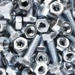 Close up of nuts and bolts — Foto de stock #11878937