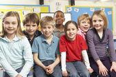 Alunos em sala de aula — Foto Stock