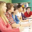 Teenage Students Studying In Classroom — Stock Photo #11880319