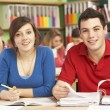 Teenage Students Studying In Classroom — Stock Photo #11880344