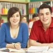 Teenage Students Studying In Classroom — Stock Photo #11880346
