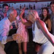 Senior Couple Having Fun In Busy Bar — Stock Photo #11880865