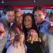 Group Of Young Having Fun In Busy Bar — Stock Photo #11880887