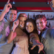 Group Of Young Having Fun In Busy Bar — Stock Photo #11880889