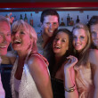 Group Of Having Fun In Busy Bar — Stock Photo #11880939
