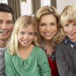 Portrait Of Happy Family At Home — Stock Photo #11881014