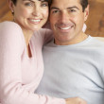 Portrait Of Romantic Young Couple — Stock Photo