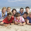 Teenagers together — Stockfoto