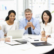 Business meeting in an office — Stock Photo
