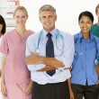 Portrait of medical professionals — Stock Photo #11882379