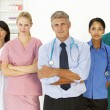 Portrait of medical professionals — Stock Photo #11882382