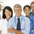 Portrait of medical professionals — Stock Photo #11882384