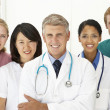 Stock Photo: Portrait of medical professionals
