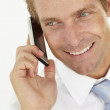 Businessman talking on phone — Stock Photo #11882524