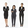 Group of mixed age and race businesswomen — Stock Photo