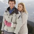 Young Couple On Winter Vacation — Stock fotografie #11882619