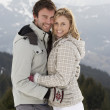 Young Couple On Winter Vacation — Stockfoto #11882623