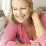 Senior woman at home — Stock Photo #11883373