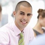 empresario en reunión — Foto de Stock   #11883742