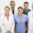 Mixed group of medical professionals — Stock Photo #11883857