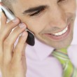 Young businessman using cellphone — Stock Photo #11883980