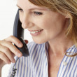 Mid age businesswoman on phone — Stock Photo #11884020