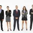 Group Of Businesspeople In Studio — Stock Photo