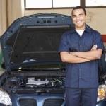 Mechanic at work — Stock Photo #11884294