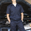 Mechanic at work — Stock Photo #11884302