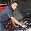 Stockfoto: Mechanic at work