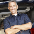Mechanic at work - Stock Photo