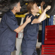 Mechanics at work — Stock Photo #11884337