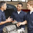 Mechanics at work — Stock Photo #11884347
