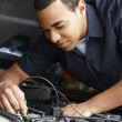 Mechanic at work — Stock Photo #11884356