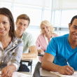 Students working in classroom — Stock Photo #11884391